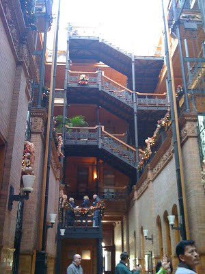 Ride Angel's Flight & Visit Bradbury Building: Downtown LA