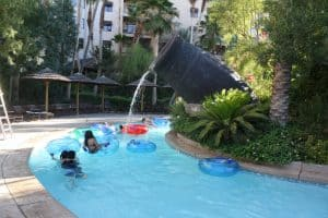 Suites and Lazy River at Tahiti Village Resort