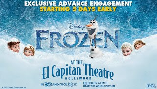 Disney's Frozen 3D Discount: El Capitan Theatre turns into Snowy Wonderland | @ElCapitanThtre