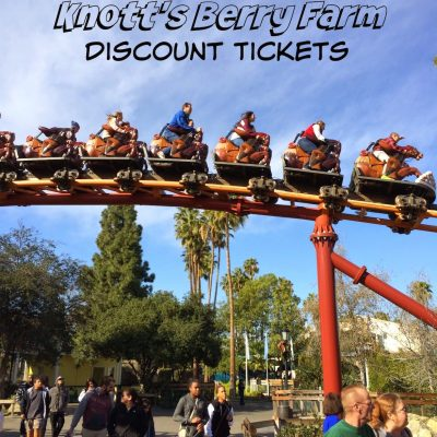 Cheap Knotts Berry Farm Tickets: $36.50
