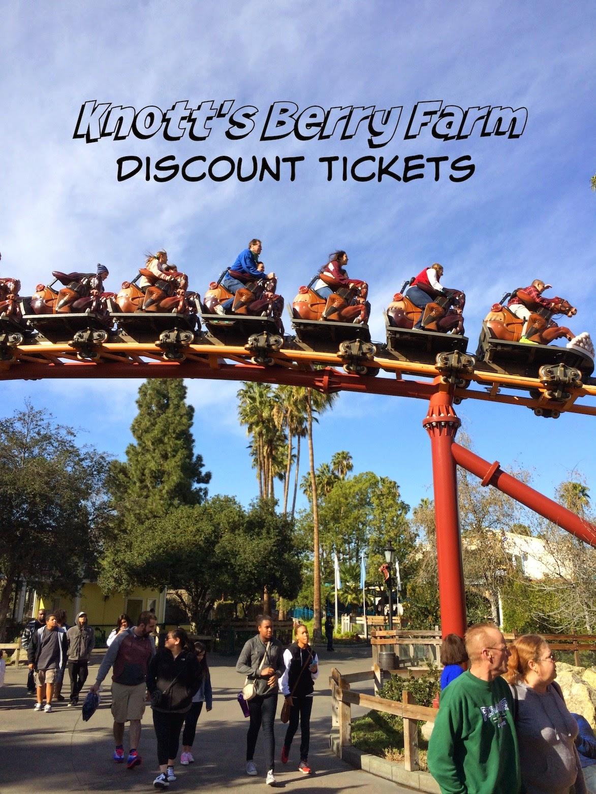 Cheap Knotts Berry Farm Tickets 39 Any Tots