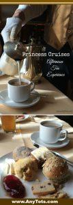 princess cruise afternoon tea