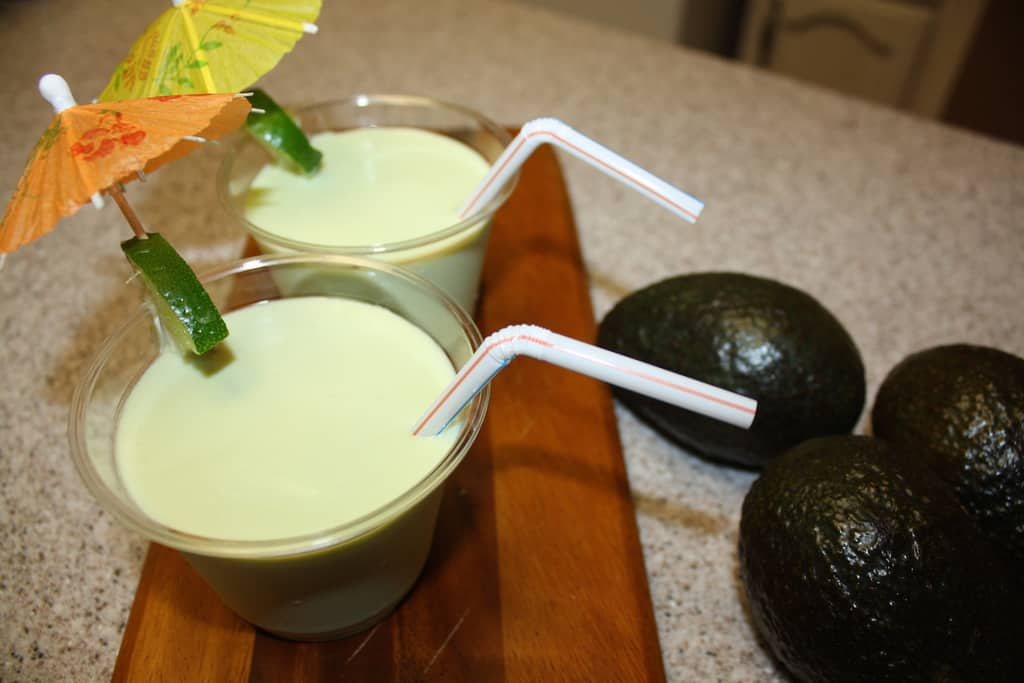 avocado shake recipe