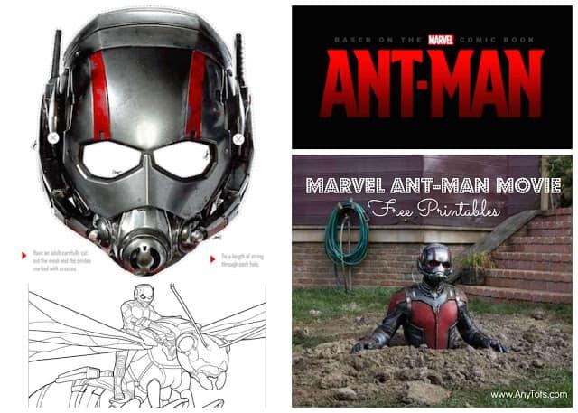 Ant Man Movie Free Printables