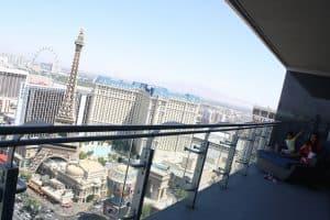 Cosmopolitan Las Vegas Hotel: Corner 1BR Suite 180° View