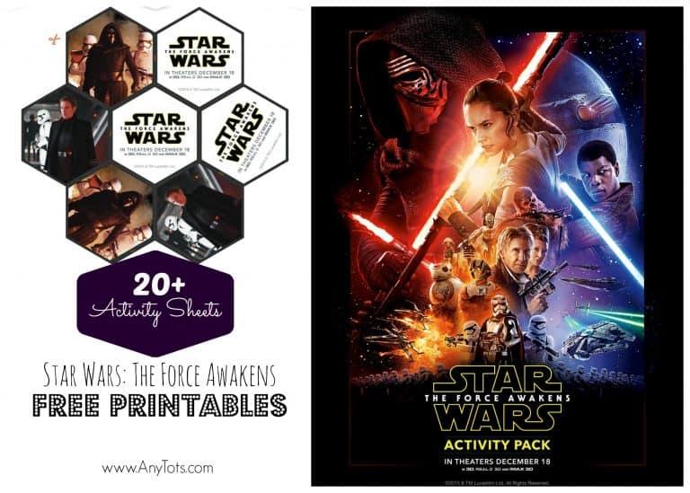 star wars free printable activity sheets
