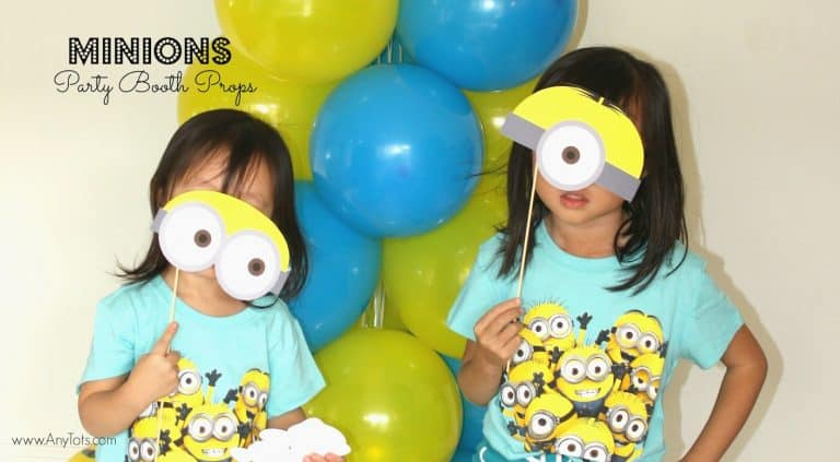 Minions Party Booth Props