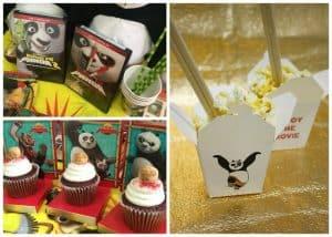 Kung Fu Panda Party Ideas: Free Printable Chinese Take Out Box + Movie Set Giveaway