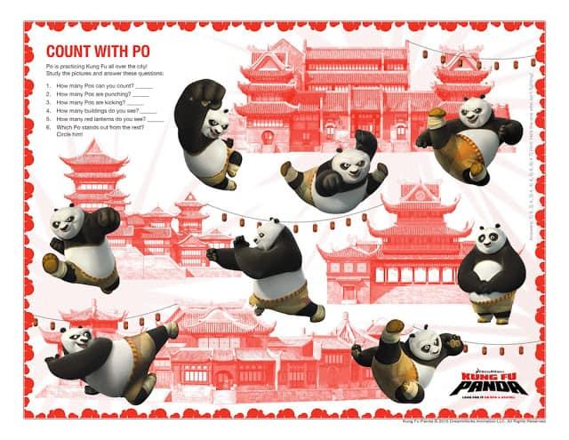 Kung Fu Panda Party Ideas + Free Printable Activity Sheets ...