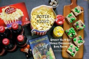 Spooky Marble Cheesecake Bars Recipe for Hotel Transylvania 2 Family Movie Night