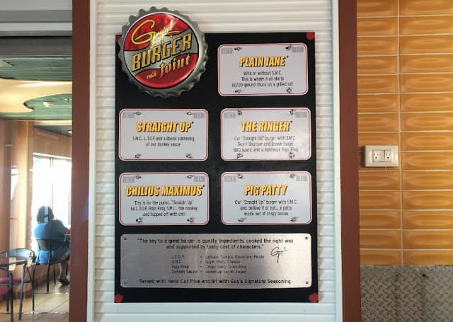 Chef Guy Fieri's Burger Joint is a Yummy Addition to ...