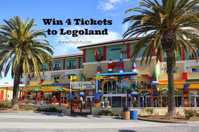 Win 4 Tickets to LEGOLAND California #LEGOLANDPlayPass