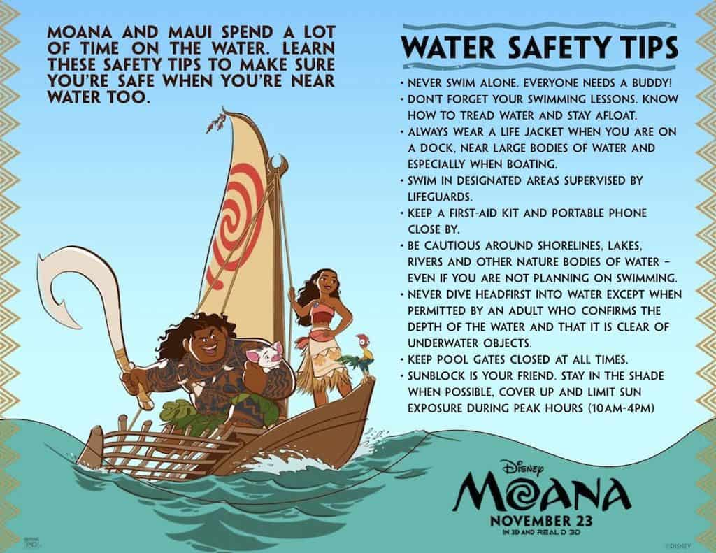 Moana Swimming Party Ideas