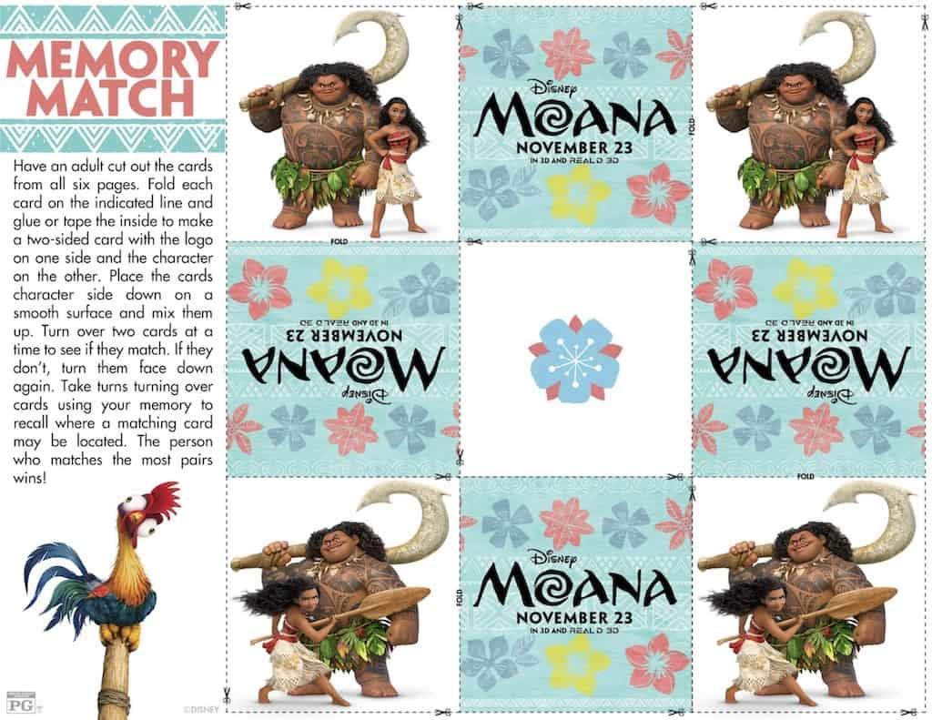 Moana Movie Party Ideas Free Printable Any Tots
