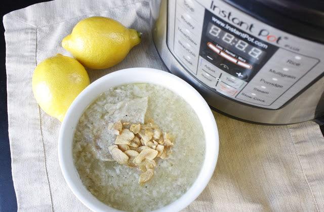 Arroz Caldo Instant Pot Recipe | Filipino Recipe