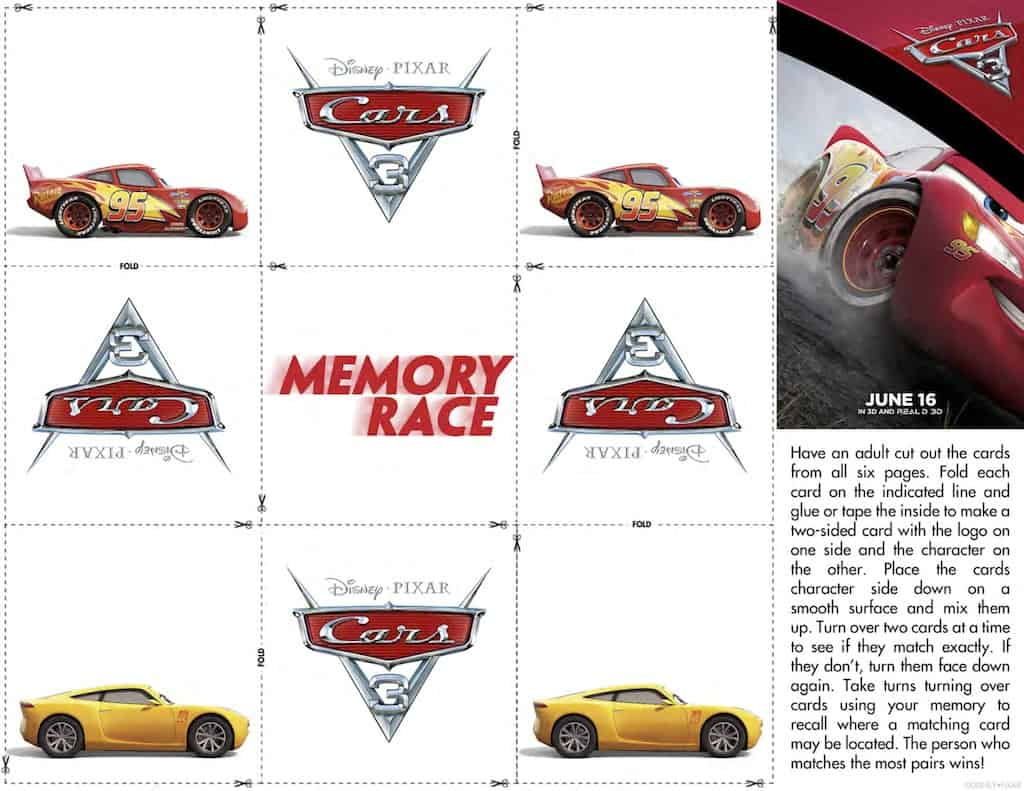 image relating to Free Printable Cars named Disney Automobiles Totally free Printable Video game Sheets - Any Tots