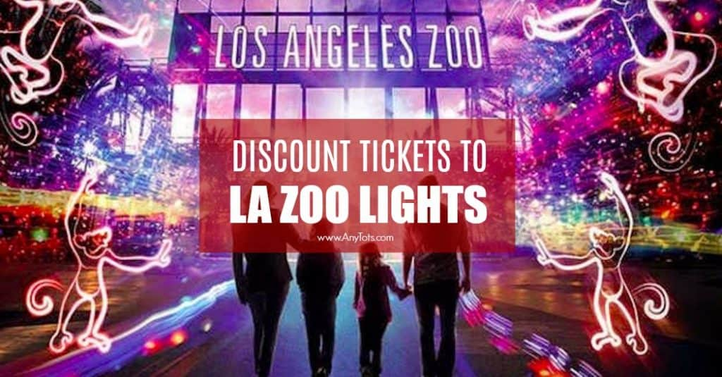 LA Zoo Lights Discount Tickets