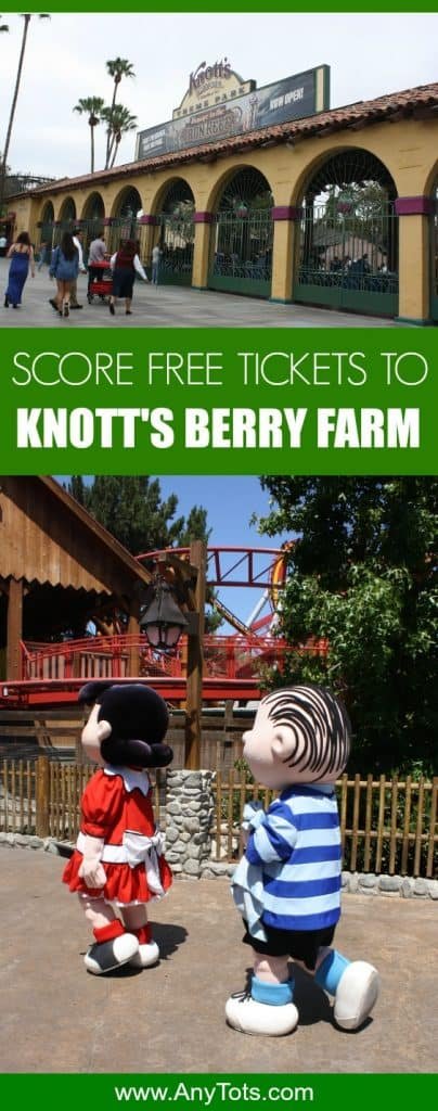 free tickets to knott's berry farm