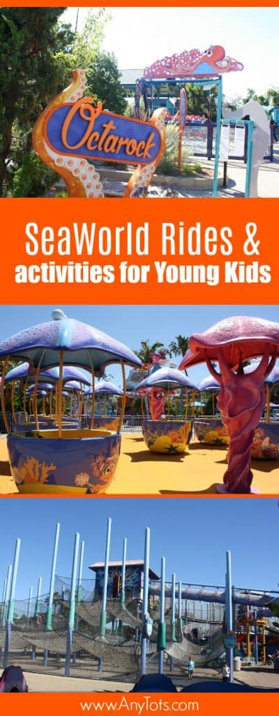 seaworld rides for young kids
