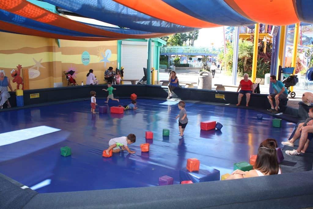 SeaWorld Toddler Play Area
