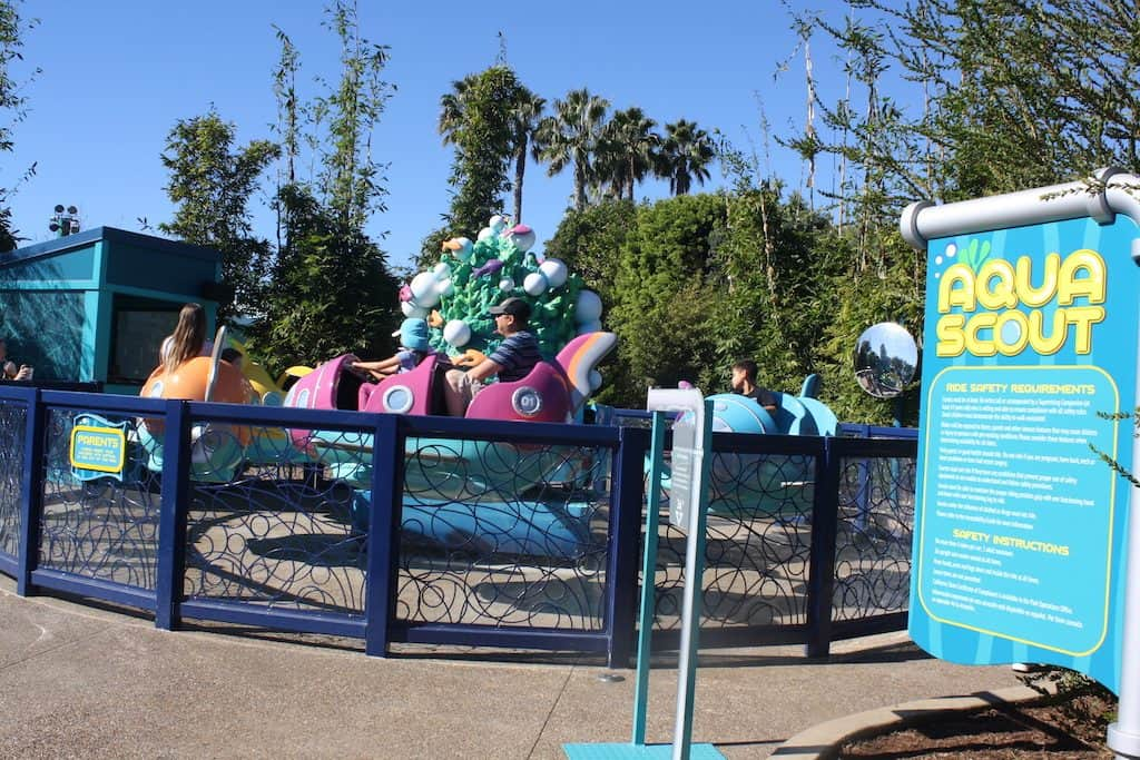 Rides and Activities Young Kids Can Do at SeaWorld