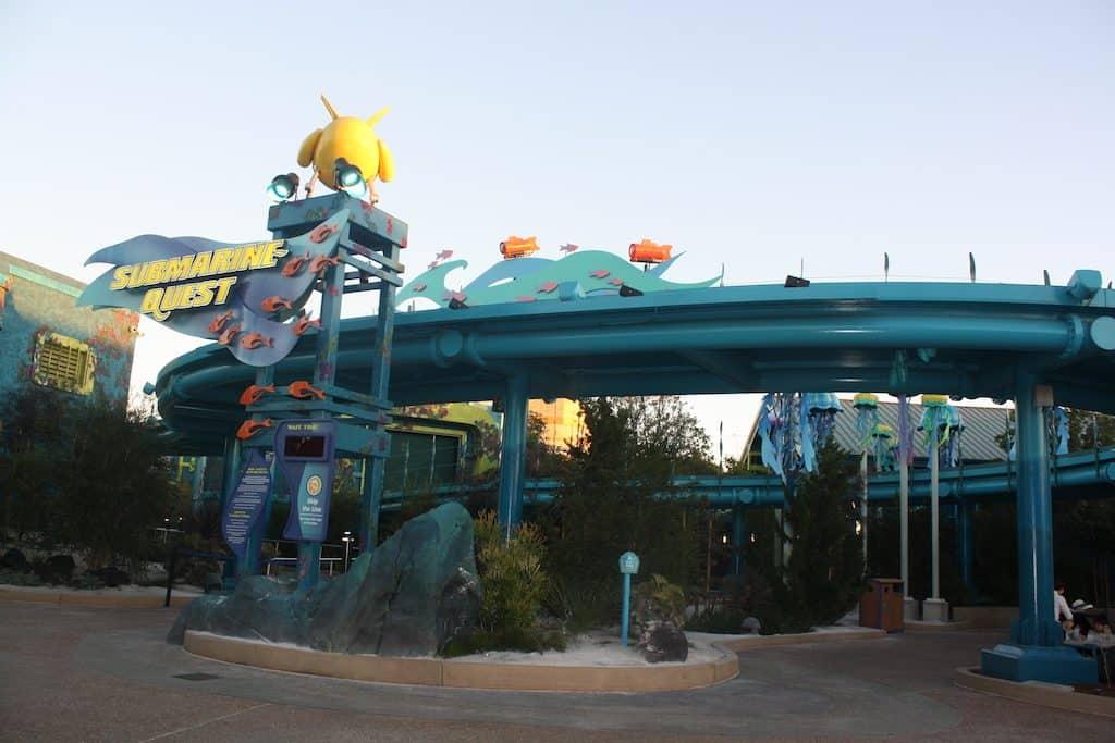 Interactive ride at SeaWorld