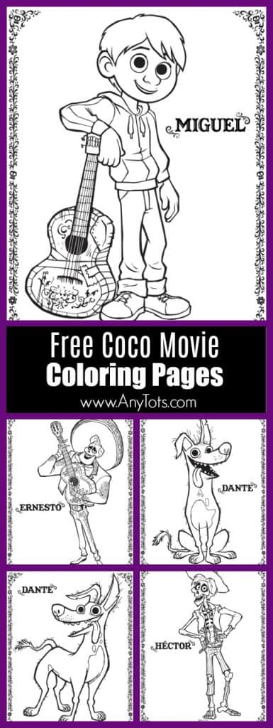 Free Printable Coco Coloring Pages