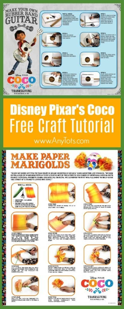 disney pixar coco free crafts