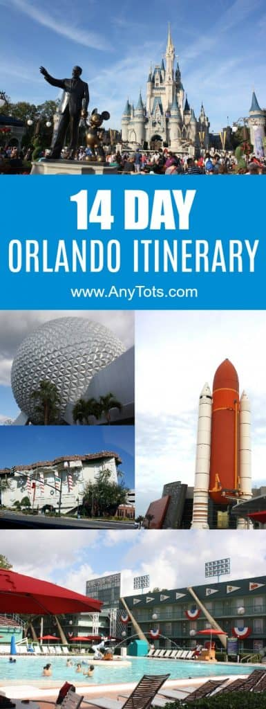 2 week Orlando itinerary