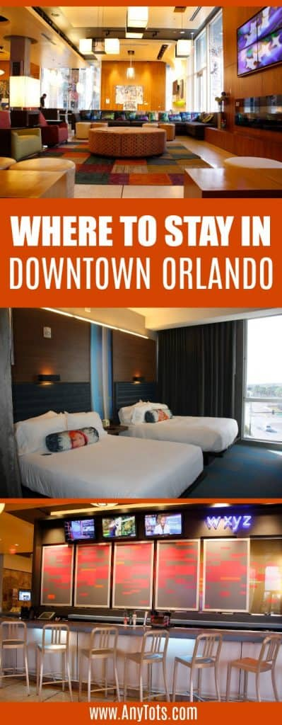 where to stay in downtown orlando