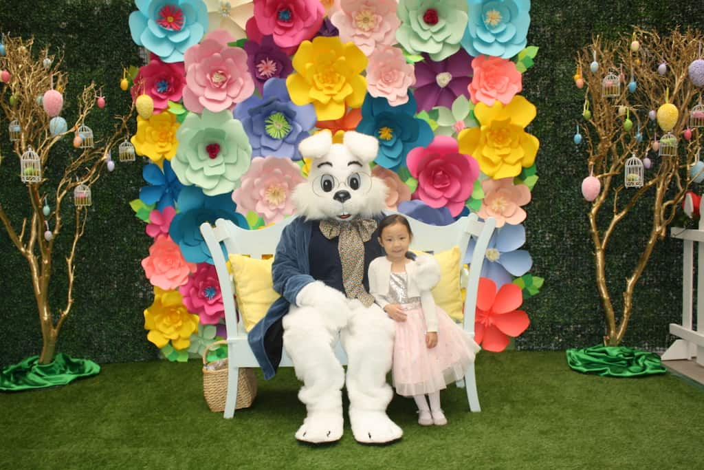 south bay galleria easter bunny