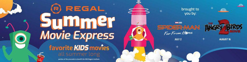 Regal Summer Movie Express 2019 Movie List