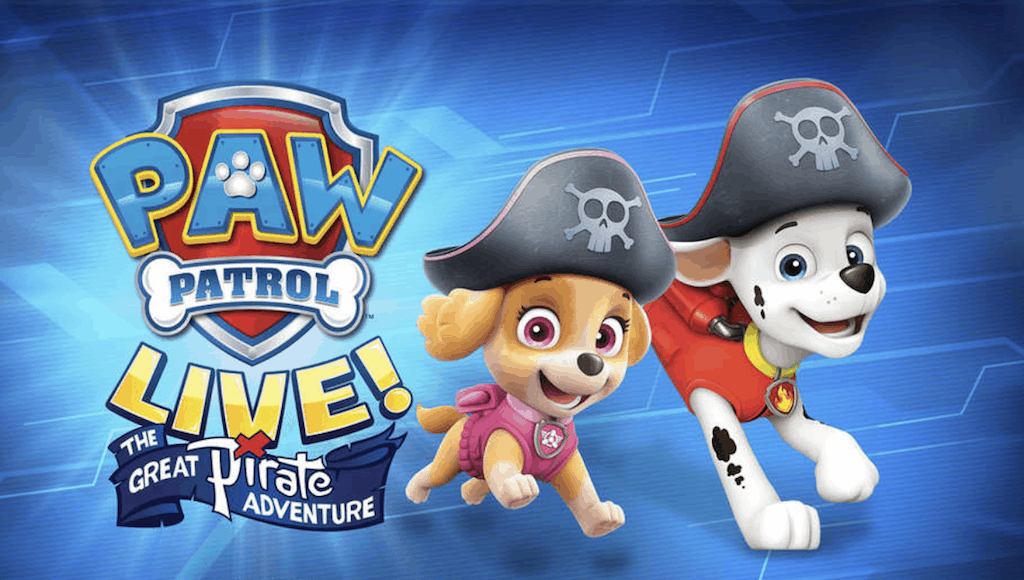 paw patrol live discount tickets long beach