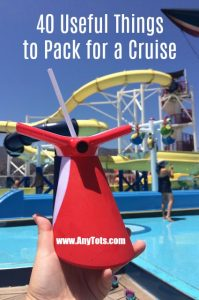 useful things to pack for a cruise