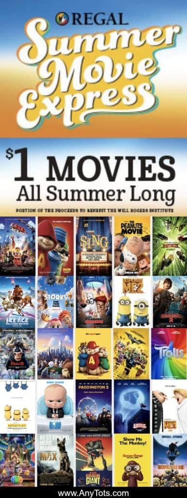 $1 Regal Summer Movies