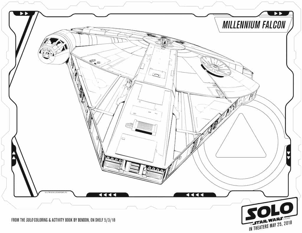 Star Wars SOLO Free Printable Activity