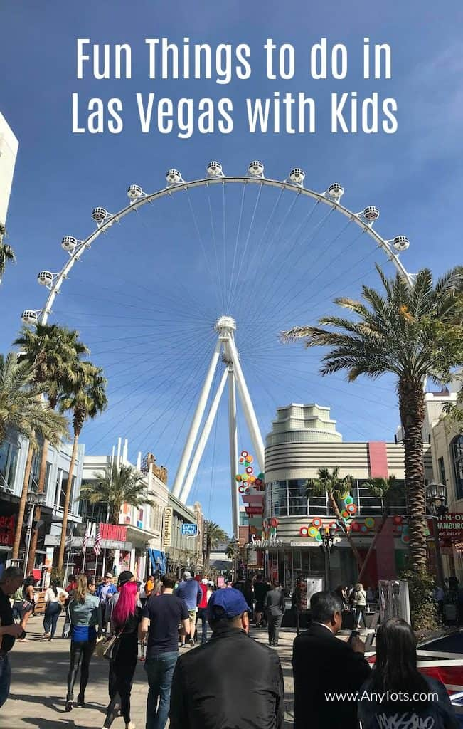 fun things to do in Las Vegas with kids