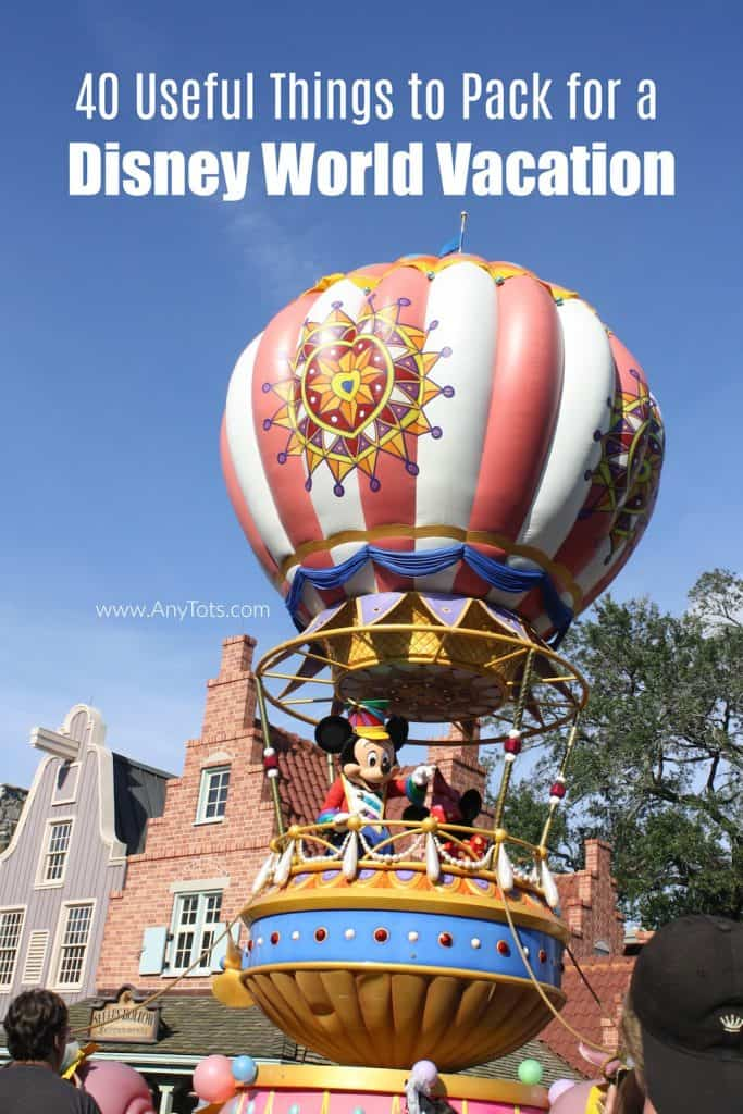 Disney World Packing List