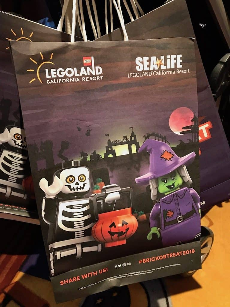 Legoland Brick or Treat - Treat Bag