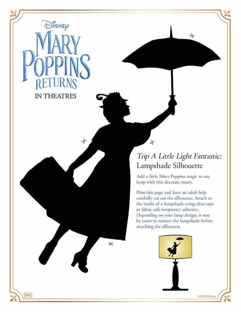 Free Printable Mary Poppins Returns