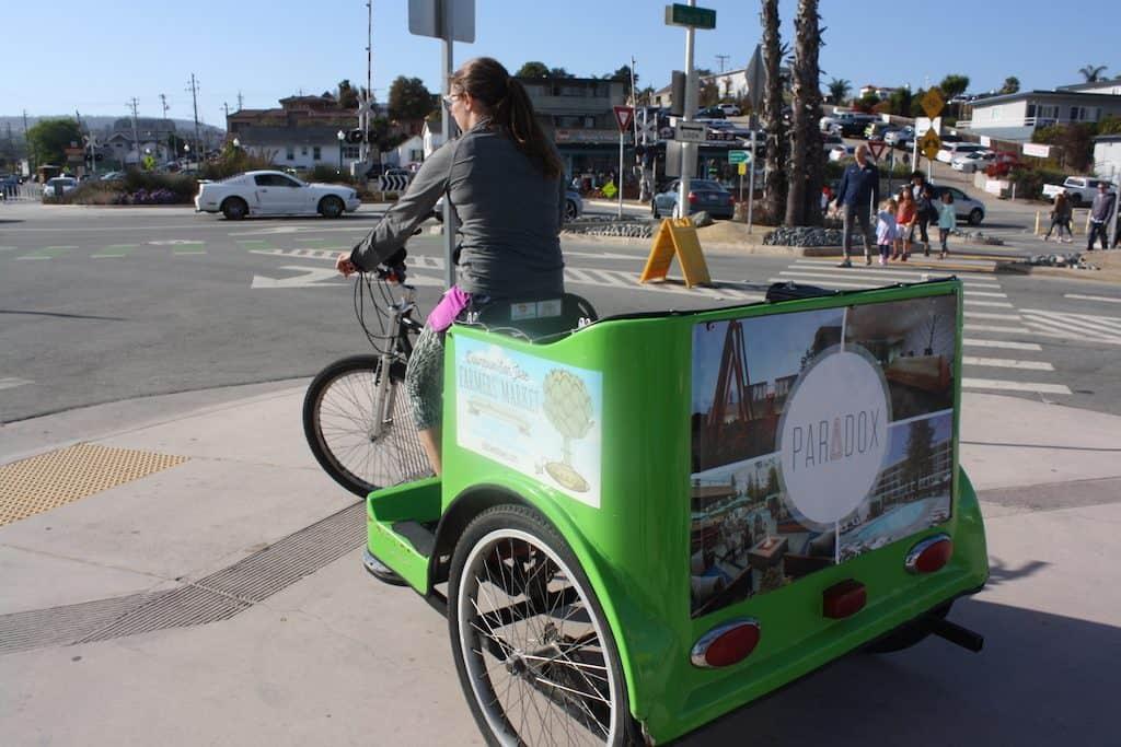 santa cruz pedicab