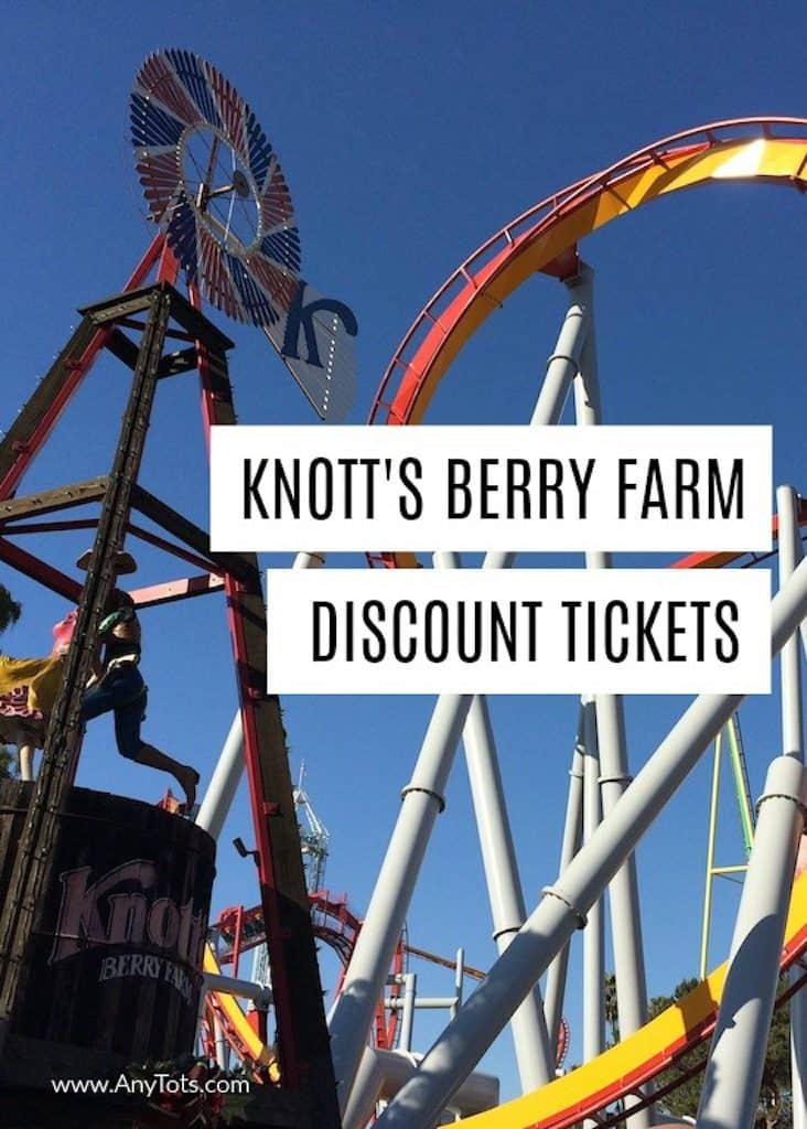 Cheap Knott's Berry Farm Discount Tickets
