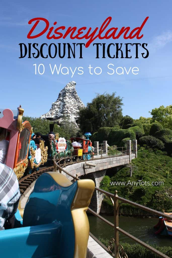 Discounted Disneyland Tickets