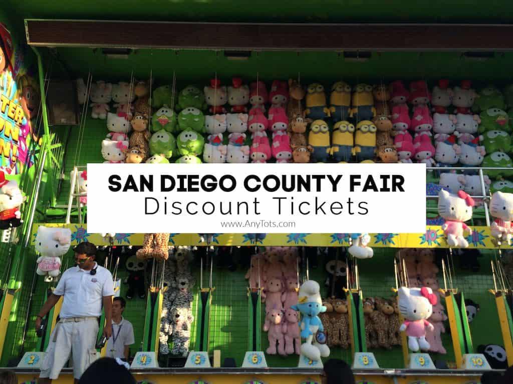 San Diego County Fair Discount Tickets