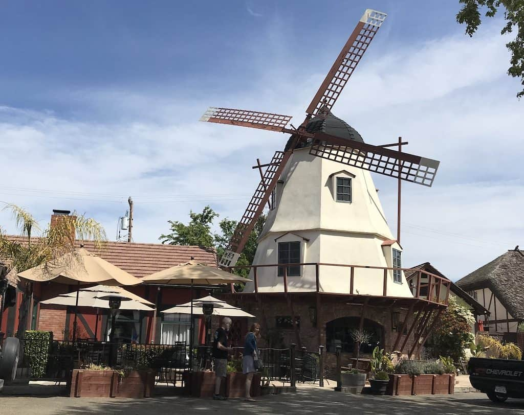 Windmill in Solvang California