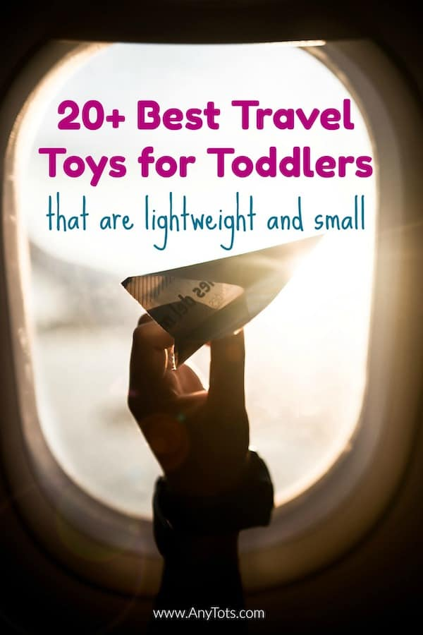 Best Travel Toys for Toddlers on Airplanes to Entertain Them