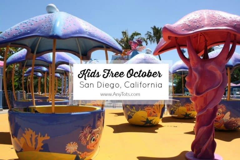 Kids Free October San Diego California
