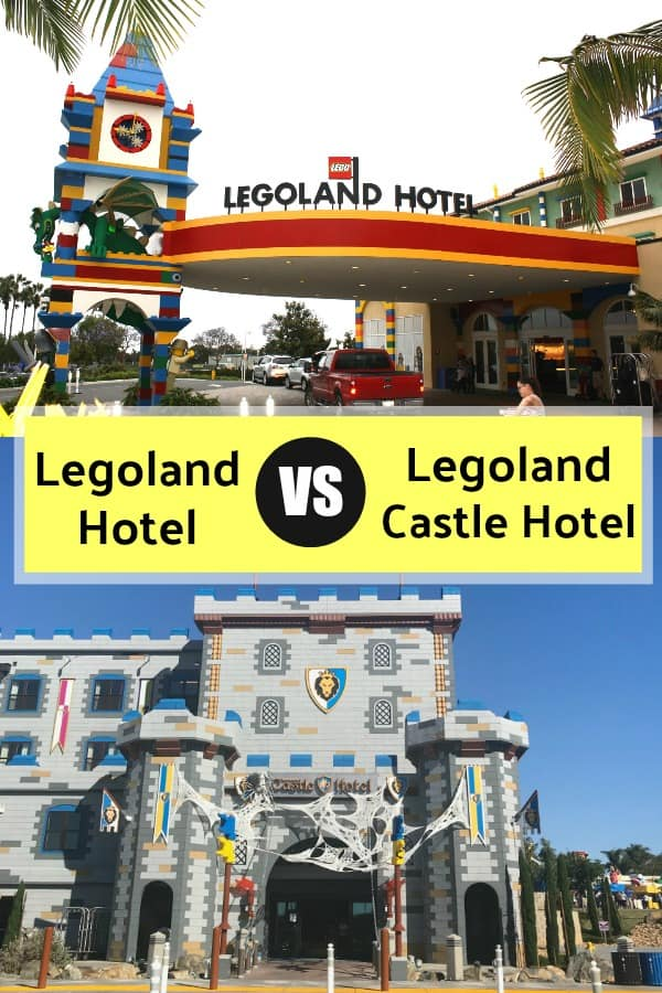 Legoland Hotel VS Castle Hotel