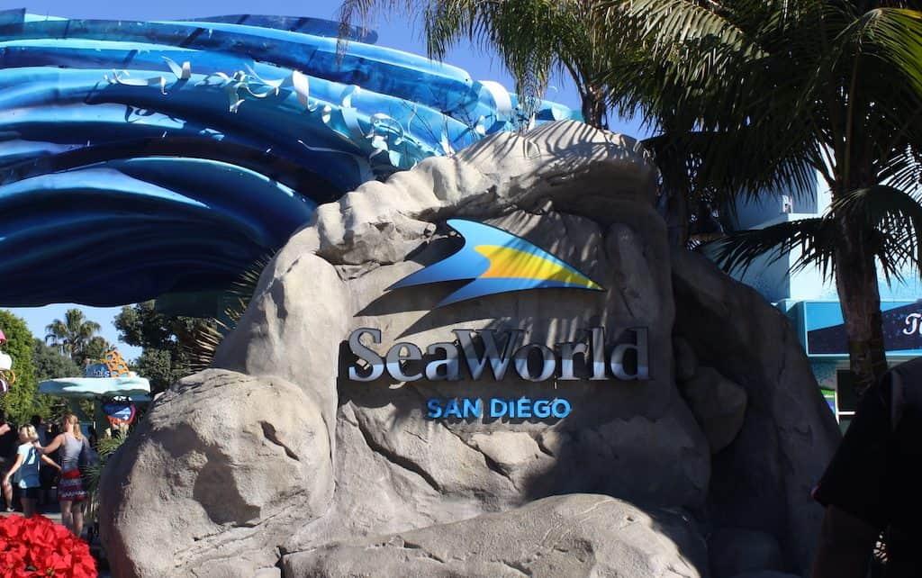 SeaWorld in San Diego Sign