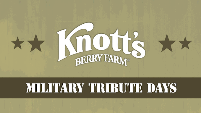 Knott's Berry Farm Military Free Days
